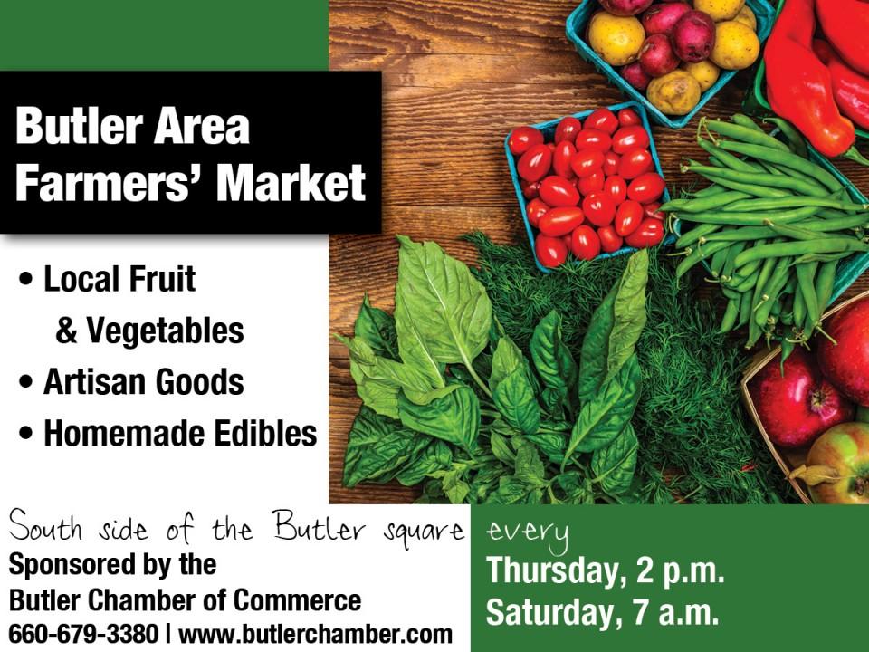 Butler chamber Farmers Market