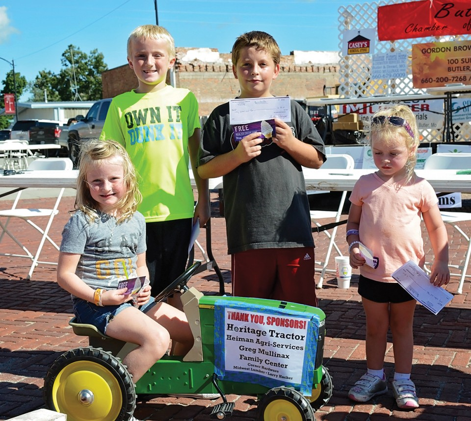 Pedal Tractor Winners