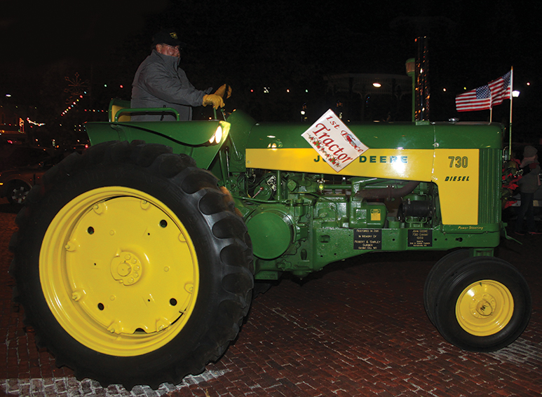 First place tractor
