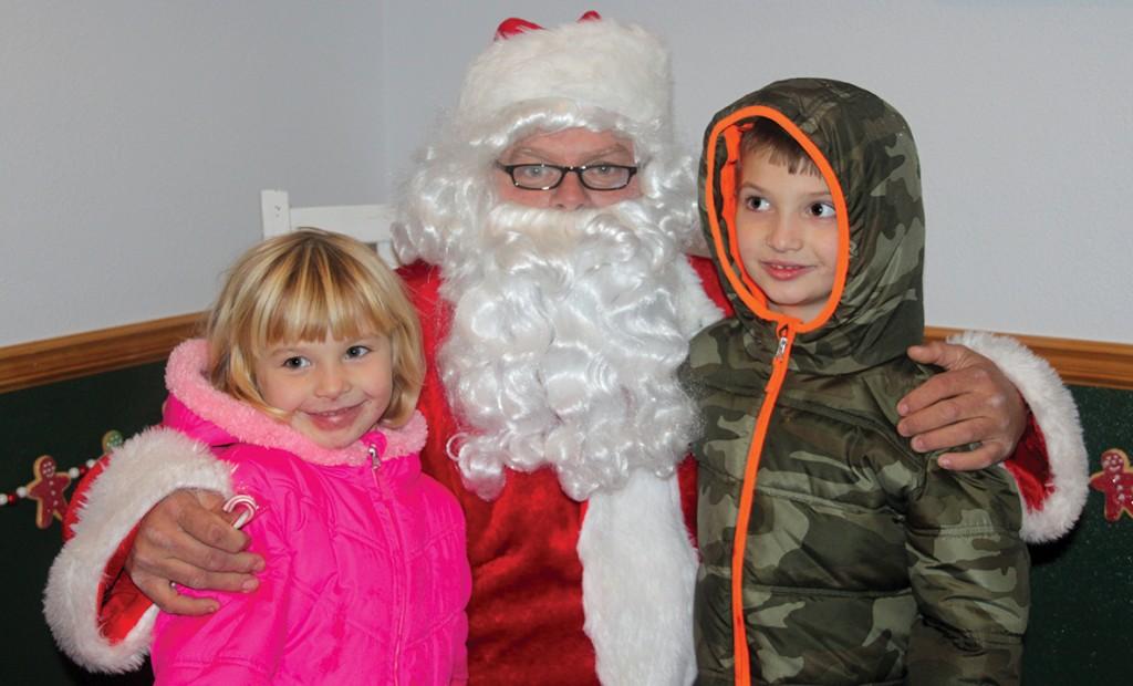 Santa in house